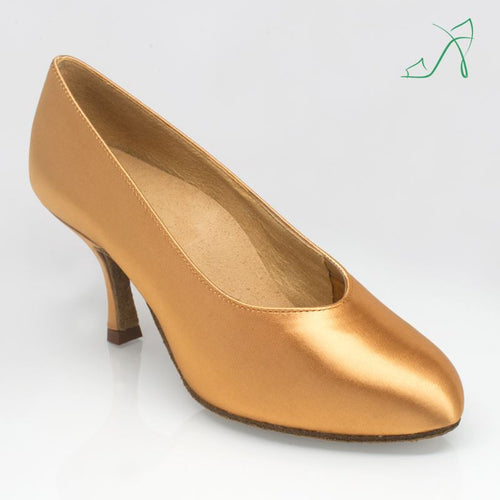 Ray Rose 106A Landslide | Flesh Satin | Ballroom Dance Shoe
