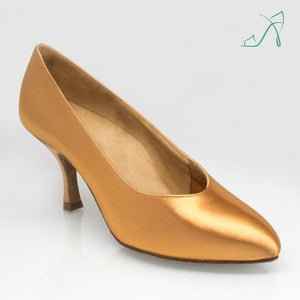 Ray Rose 109A Avalanche | Flesh Satin | Ballroom Dance Shoe