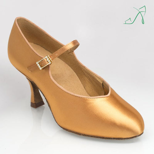 Ray Rose 146A Serengeti | Flesh Satin | Ballroom Dance Shoe