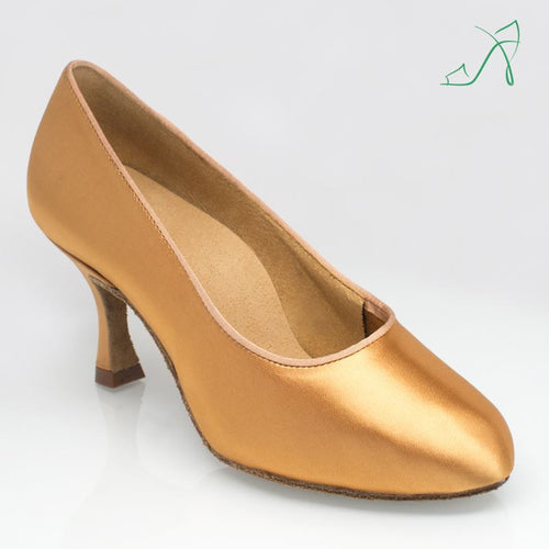 Ray Rose 107A Bora | Flesh Satin | Ballroom Dance Shoe