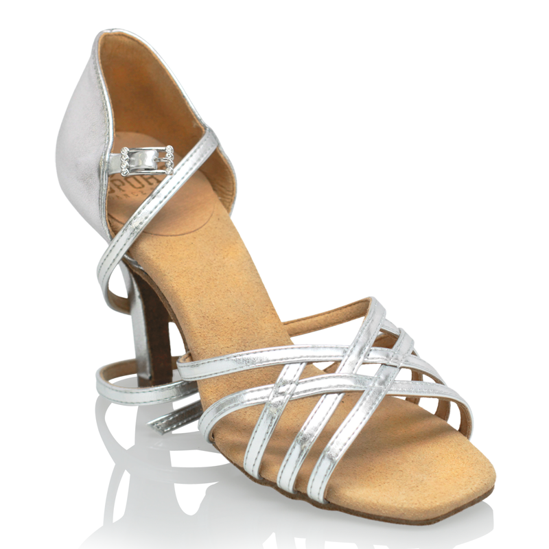 Ray Rose H860-X Kalahari Xtra | Silver (Reflective) | Ladies Latin Dance Shoes