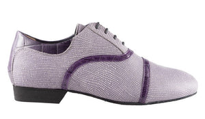 Tangolera 105 Coconut amethyst printed leather