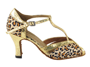 Very Fine 2707 Leopard Satin & Ultra Gold Trim