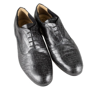 Tangolera 501 Cocco antracite Leather Sole Narrow Fit