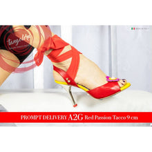 Tangolera A 2 G Red Passion Heel 9 cm
