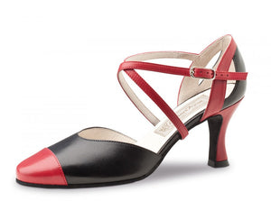 Werner kern  Brooke 6,5 Nappa black/red