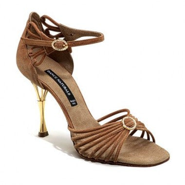 Dance Naturals Art 883 Tan  suede Size 35 Offer, T90 Heel