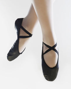 So Danca BAE 11 Leather Ballet Shoe Black
