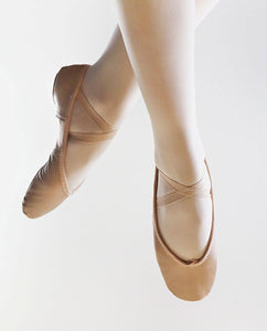 So Danca BAE 11 Leather Ballet Shoe Pink