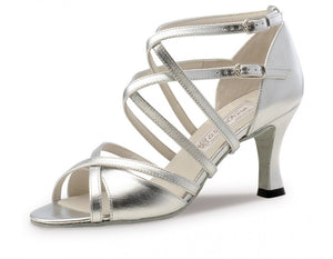 Werner kern Eva Silver leather 6,5 Heel