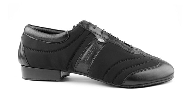 Portdance PD Pietro - Nobuck Sole - Black Lycra/Leather Size 45 Offer