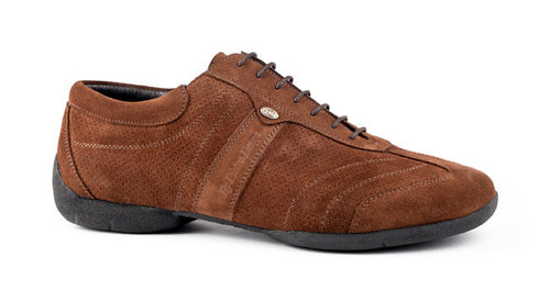 Portdance PD Pietro Street - Brown Nobuck
