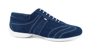 Portdance PD Pietro Street - Blue Nobuck / White Sole