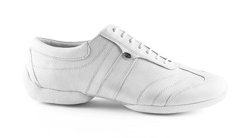 Portdance PD Pietro Street - White Leather / White Sole