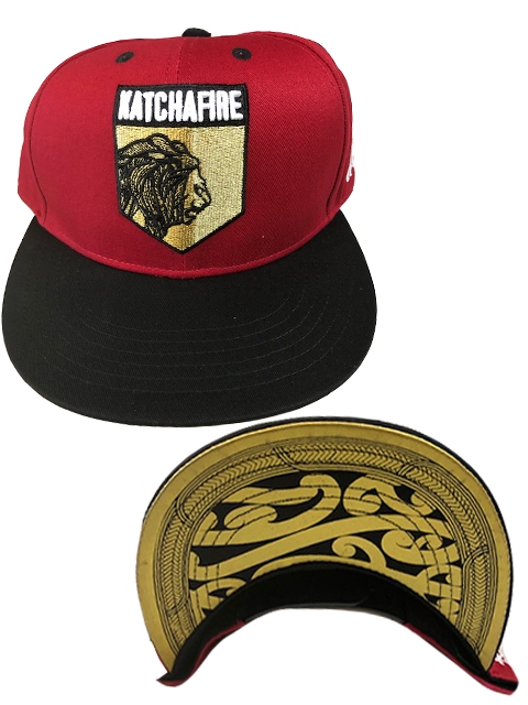 Katchafire X Calibis - Embroidered Snapback (Red/Black)