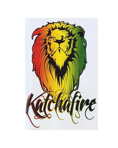 Rasta Lion Sticker (Large)