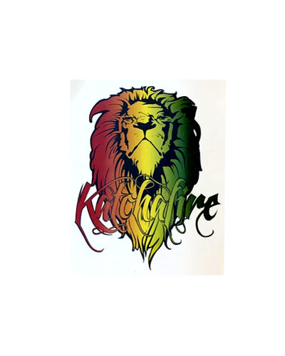 Rasta Lion Sticker (Small)