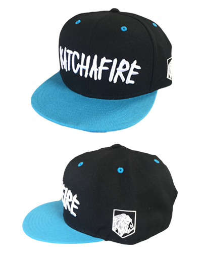 Katchafire X Calibis - Embroidered Snapback (Blue/Black)