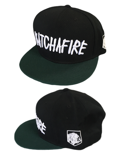 Katchafire X Calibis - Embroidered Snapback (Green/Black)