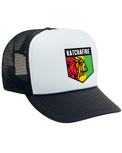 Shield Trucker (Black/White)