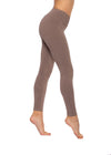 Flat Waist Ankle Legging (Style W-452, Drift Wood) by Hard Tail Forever