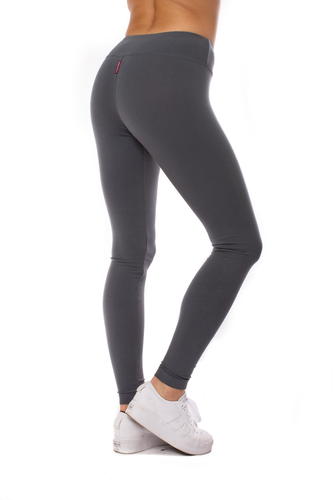 Hard Tail Forever - Flat Waist Ankle Legging (W-452, Onyx)