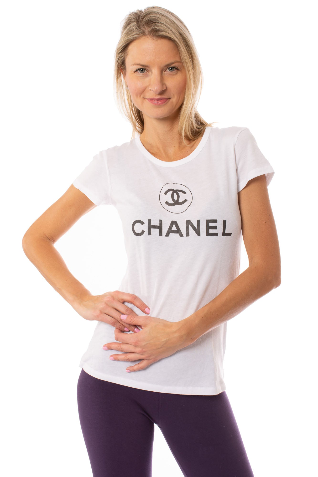 Top Secret - Chanel T (74321-CCIR, White)