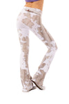 Hard Tail Forever - Contour Roll Down Boho Bell Bottom Flare Pant (W-598, Tie-Dye VCL1) alt view 2