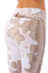Hard Tail Forever - Contour Roll Down Boho Bell Bottom Flare Pant (W-598, Tie-Dye VCL1) alt view 3