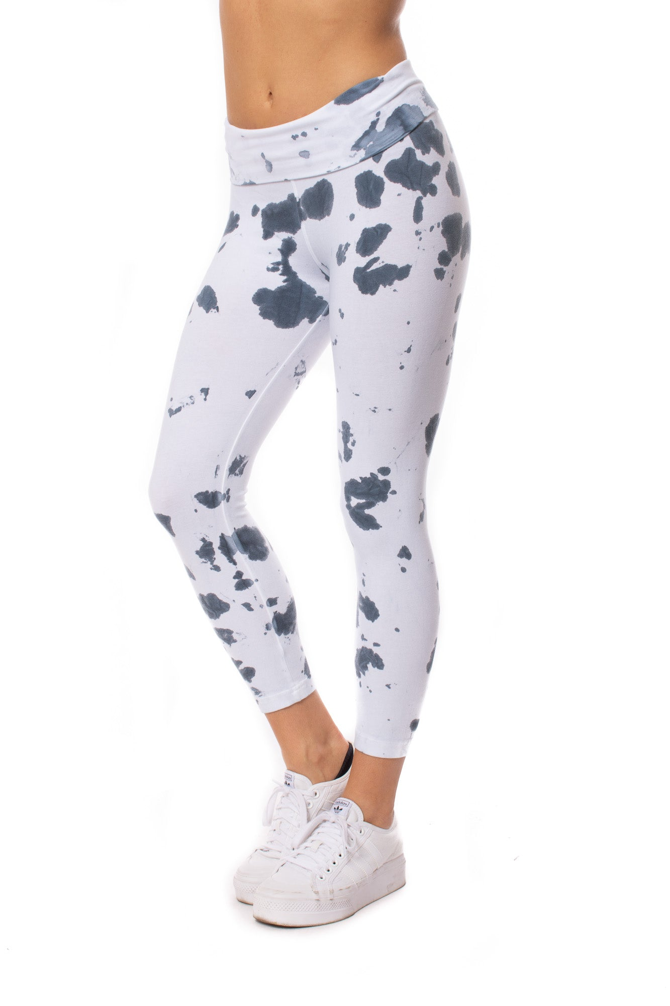Hard Tail Forever - Rolldown Layered Legging (588, Tie-Dye VCL2) alt view 1