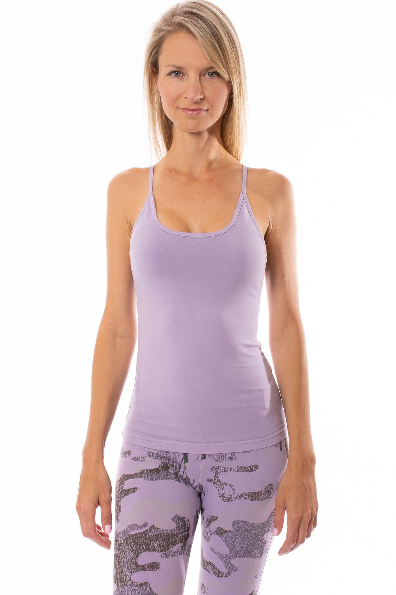 Hard Tail Forever - Freestyle Tank W/Bra (W-329, Lavender)