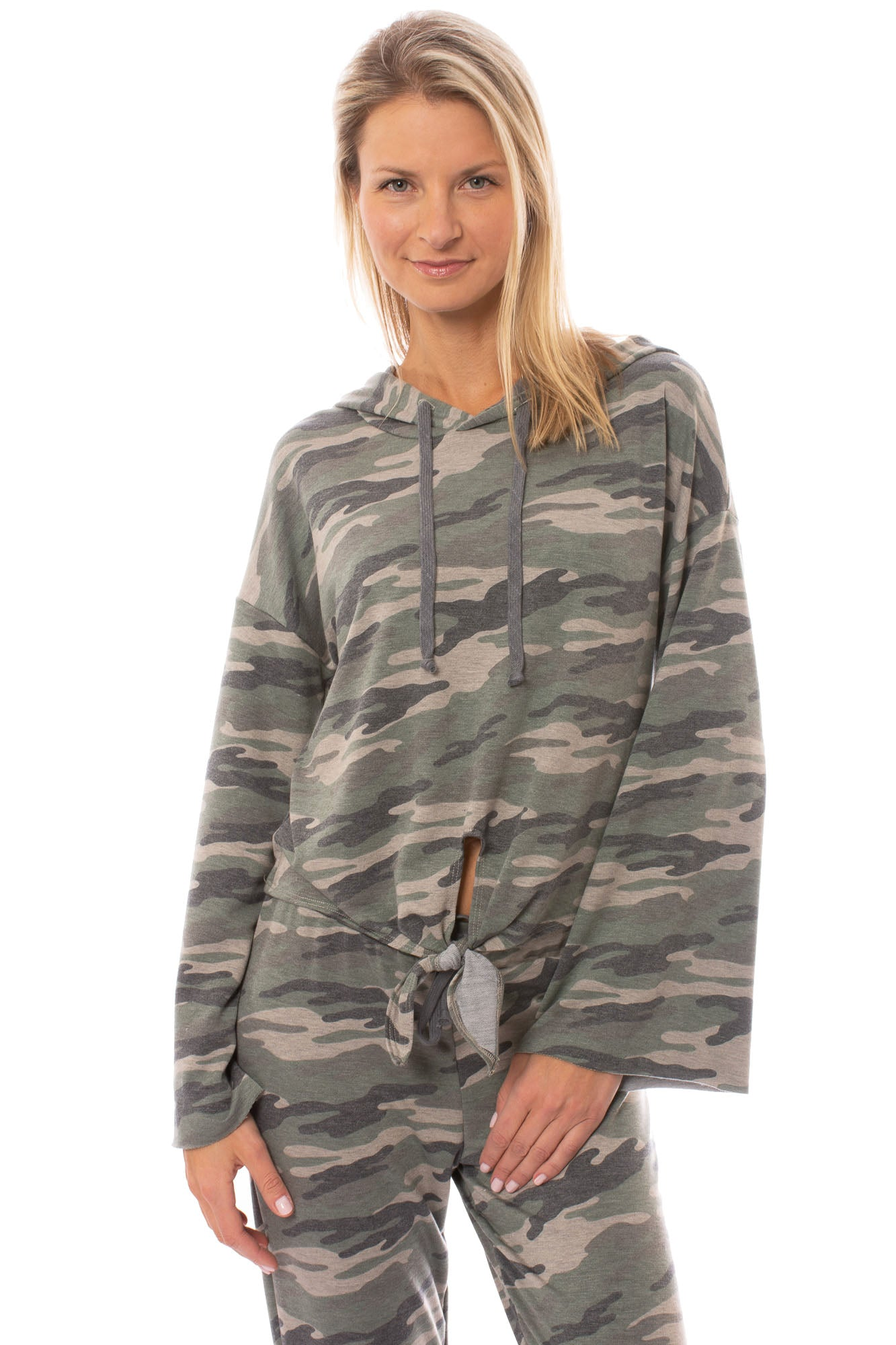 LA Made - Celeste Camo Hoodie (CAMF1003, Light Green Camo)