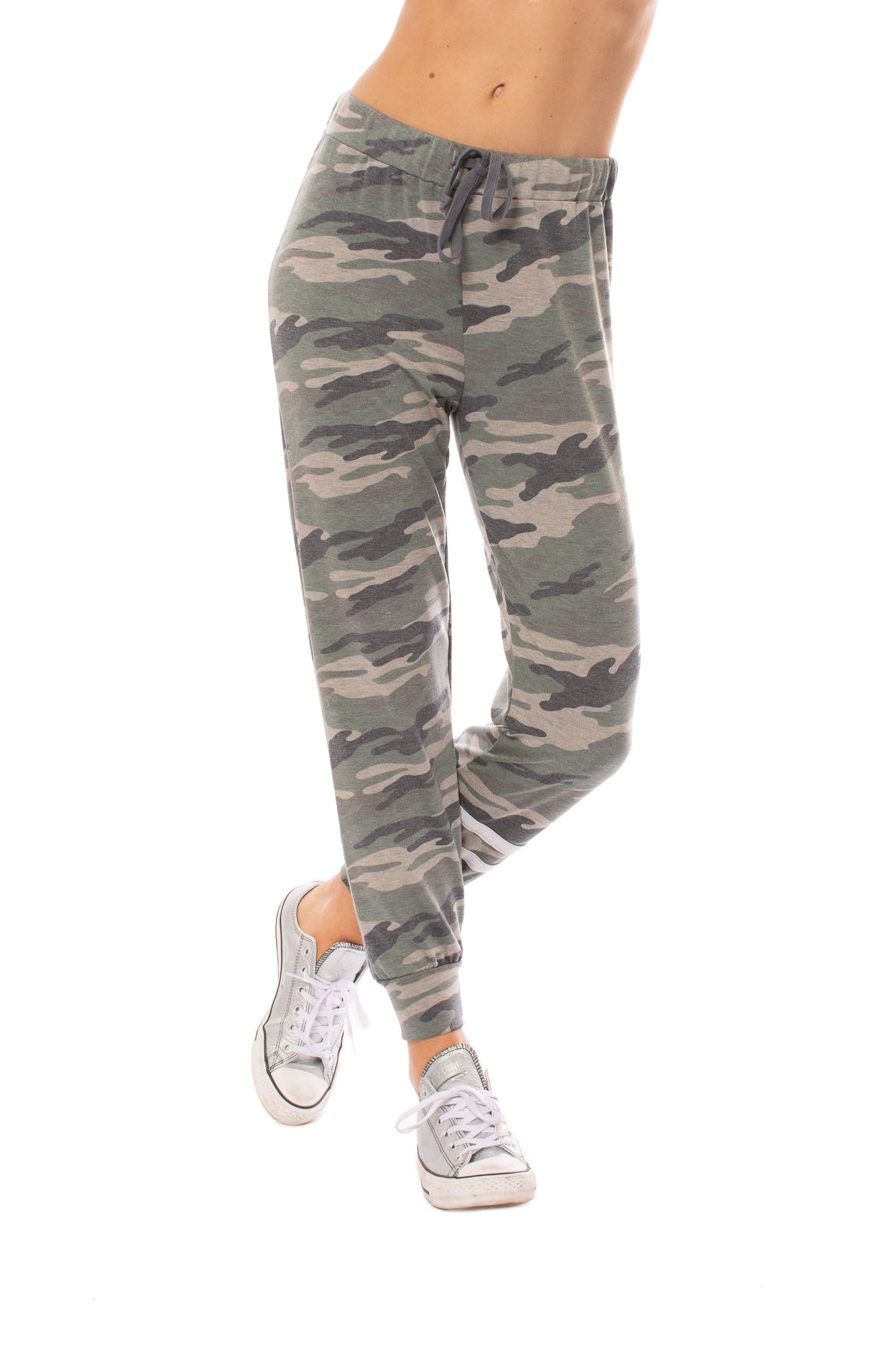 LA Made - Camo Joggers (CAMF2000, Light Green Camo)