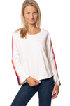 Hard Tail Forever - Sunset Strip Flare Sleeve Sweatshirt (CFT-02, Whipped Cream)