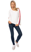 Hard Tail Forever - Sunset Strip Flare Sleeve Sweatshirt (CFT-02, Whipped Cream) alt view 5