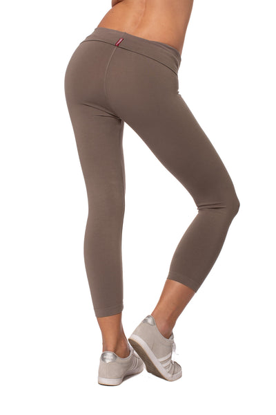 Hard Tail Forever - Roll Down Layered Legging (588, Twig) alt view 2