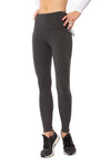 Lysse - High Waist Front Seam Ponte Legging (10-1519-M2, Charcoal)