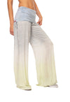 Hard Tail Forever - Side Ruched Boho Pants Tie-Dye Rh86 (RV-04, Tie-Dye RH86)