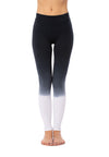 Hard Tail Forever - Cotton/Lycra High Rise Legging (W-566, Ombre OMW3)