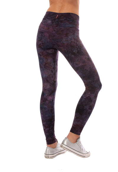 Hard Tail Forever - High Rise Ankle Legging (W-566, Tie-Dye TLW2) alt view 3