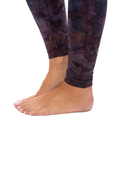 Hard Tail Forever - High Rise Ankle Legging (W-566, Tie-Dye TLW2) alt view 6