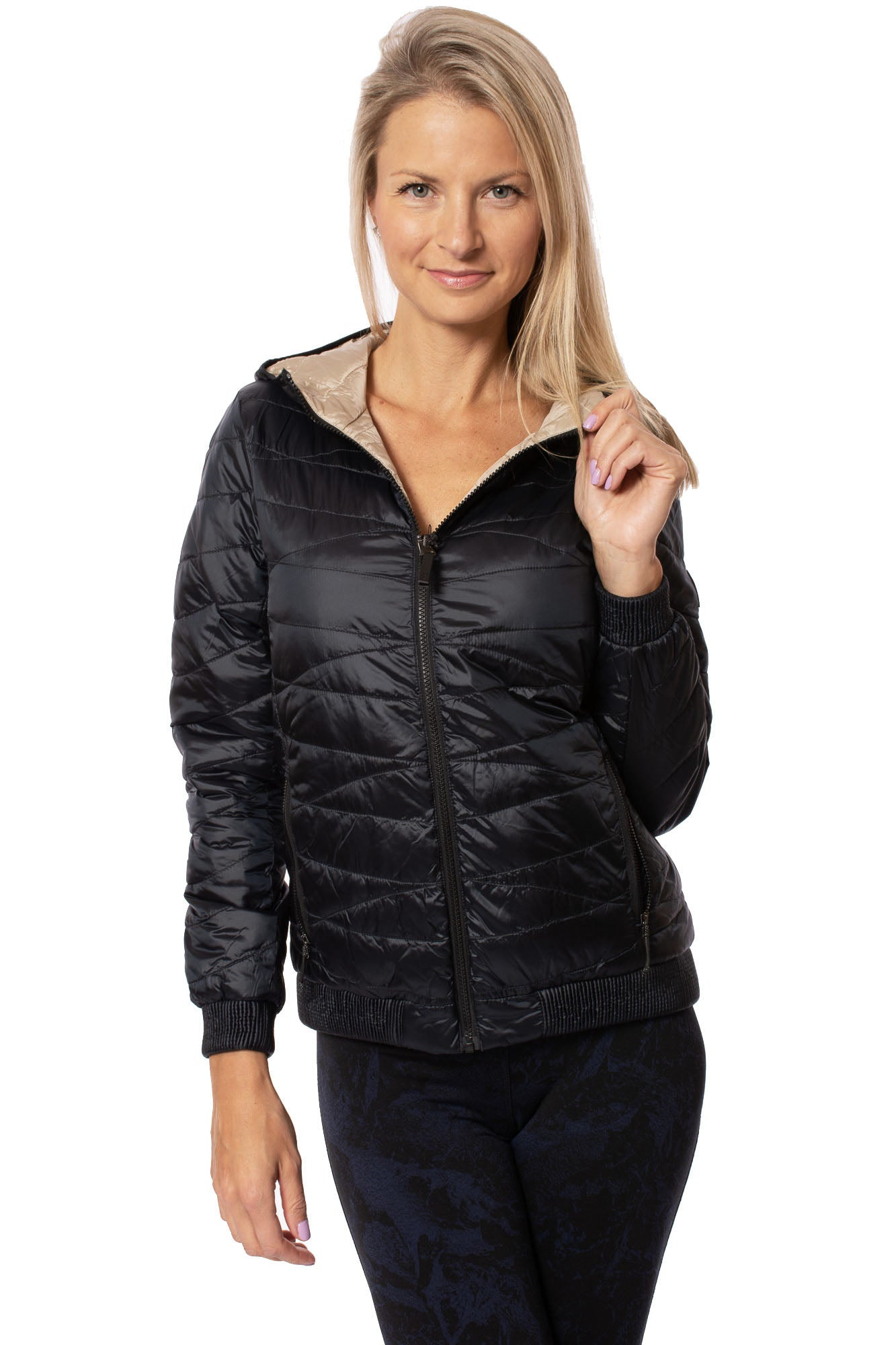 Lolë - Emeline Reversible Jacket (LUW0667, Black)