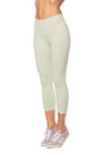 Hard Tail Forever - High Rise Capri Legging (W-614, Sprout)