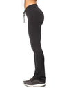 Hard Tail Forever - High Waist Lace Up Skinny Flare Pants (W-561, Black)