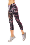 Hard Tail Forever - High Rise Capri Legging (W-614, Tie-Dye TTS1)