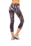Hard Tail Forever - High Rise Capri Legging (W-614, Tie-Dye TTS1) alt view 2