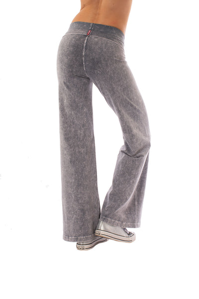 Hard Tail Forever - Wide Leg Roll Down Pants (W-326, Mineral Wash MW11) alt view 2