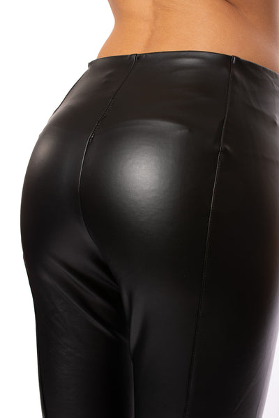 Lysse - Faux  Leather Leggings (1379, Black) alt view 3