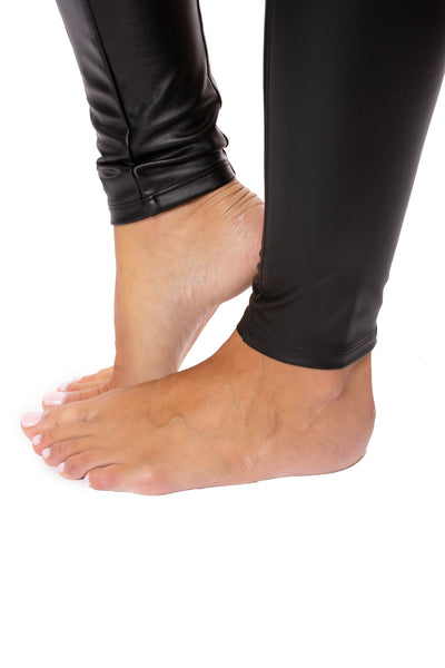 Lysse - Faux  Leather Leggings (1379, Black) alt view 5