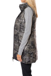 Anorak - Camo Long Vest (50171CAZP, Black Camo) alt view 1